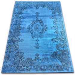 Carpet VINTAGE Rosette 22206/043 blue
