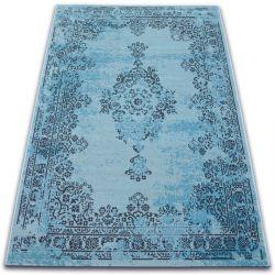 Carpet VINTAGE Rosette 22206/044 turquoise