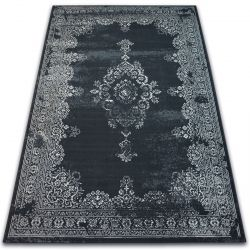 Carpet VINTAGE Rosette 22206/996 black