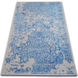 Carpet VINTAGE 22208/053 blue / grey