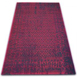 Carpet VINTAGE Flowers 22209/022 claret