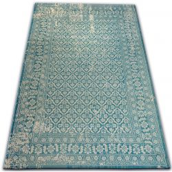 Carpet VINTAGE 22209/644 turquoise / cream