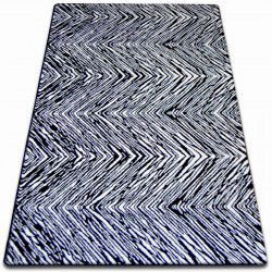 Carpet SKETCH - F754 white/black - Zigzag