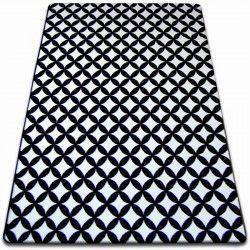 Carpet SKETCH - F757 white/black - diamond