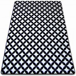 Carpet SKETCH - F757 white/black - diamond