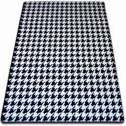 Carpet SKETCH - F763 white/black - houndstooth