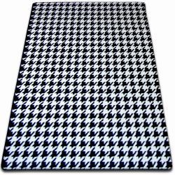 Carpet SKETCH - F763 white/black - houndstooth
