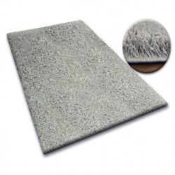 Carpet - wall-to-wall SHAGGY 5cm grey