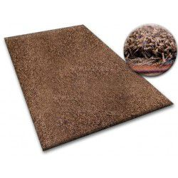 Carpet - wall-to-wall SHAGGY 5cm brown