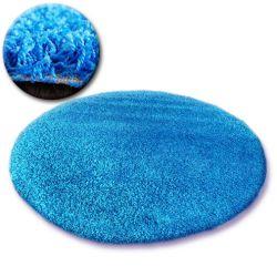 Carpet circle SHAGGY GALAXY 9000 aqua