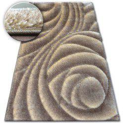 Carpet Shaggy SPACE 3D B217 l.brown