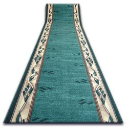 Runner anti-slip MODERN green