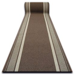 thick Runner anti-slip TRENDY brown